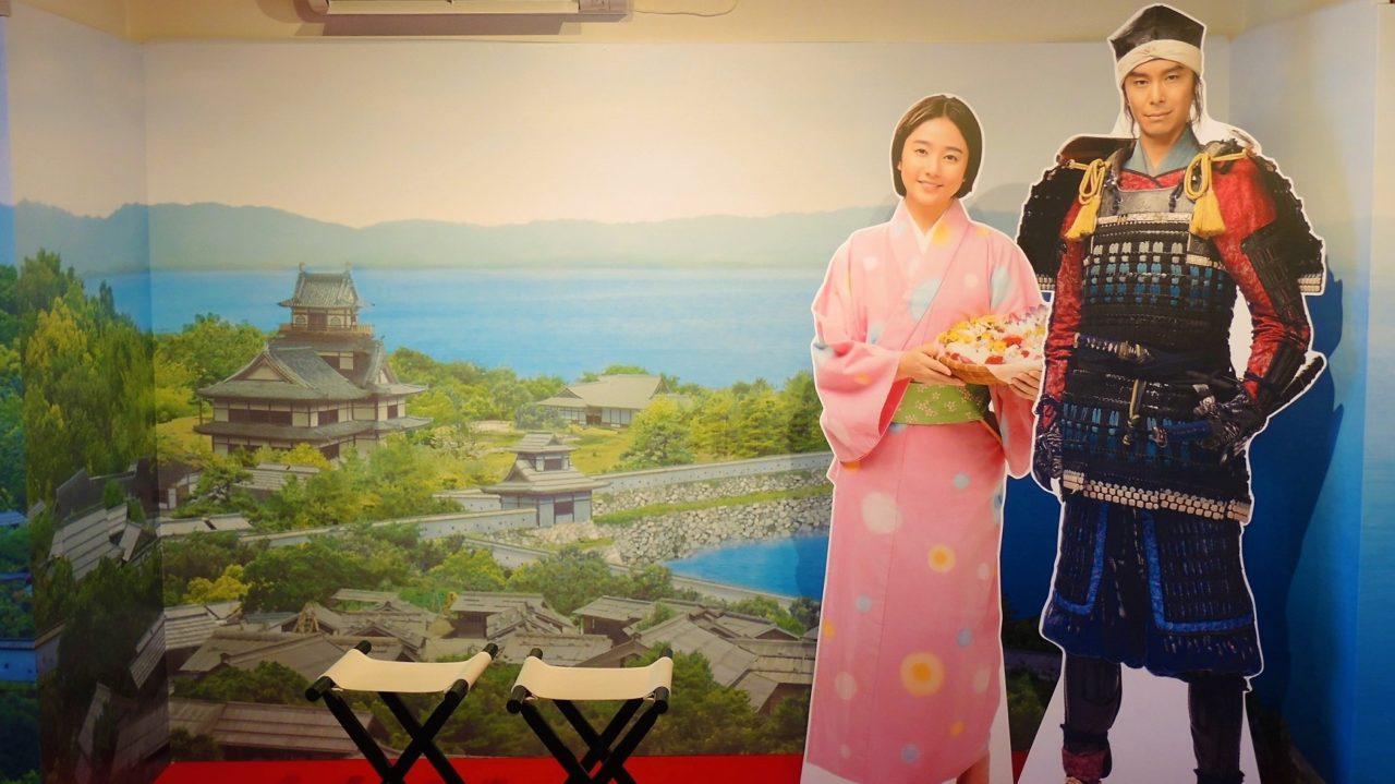 麒麟がくる展・光秀と煕子・坂本城